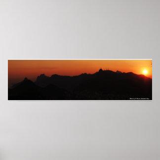 Rio de Janeiro Sunset Posters