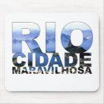 Río de Janeiro Tapete De Ratón