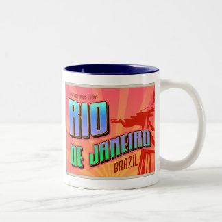 RIO de JANEIRO Two-Tone Coffee Mug