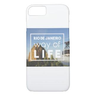 Rio de Janeiro way of Life iPhone 7 Case