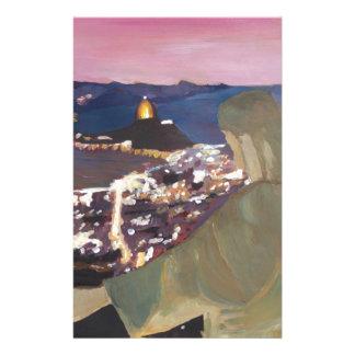 Rio De Janeiro With Christ The Redeemer 2 Stationery