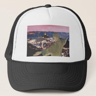 Rio De Janeiro With Christ The Redeemer 2 Trucker Hat