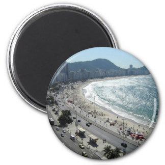 Rio de Janiero   2 Inch Round Magnet