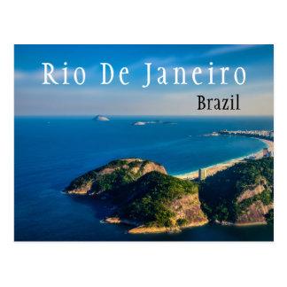 Rio De Janiero Brazil Beach Postcard