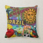 Rio de Janiero Brazil Throw Pillow