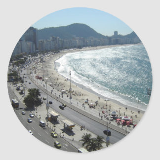 Rio de Janiero   Classic Round Sticker