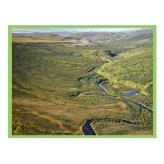 Río de Kanuti en el límite del este de Kanuti W na Postales