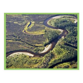 Río de Kanuti Tarjetas Postales