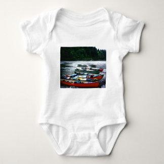 Río de la anguila, California Body Para Bebé