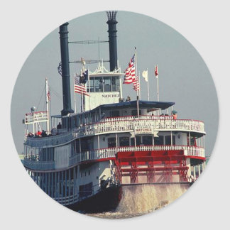Río de la paleta del barco de vapor de New Orleans