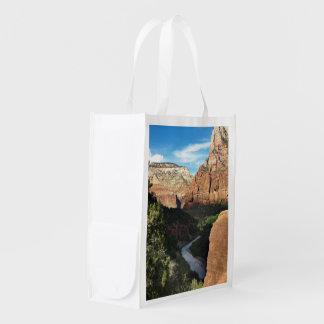 Río de la Virgen de Utah del parque nacional de Bolsa De La Compra