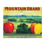Río de LabelHood del cajón de Apple de la montaña, Lona Estirada Galerías