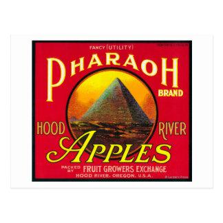 Río de LabelHood del cajón de Apple del Pharaoh, O Tarjeta Postal