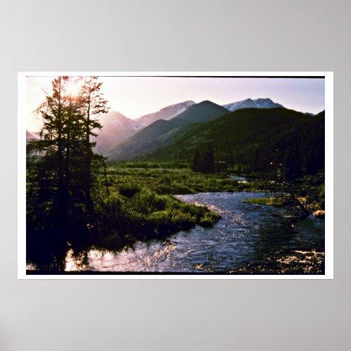 Río de las caídas - Parque Nacional de las Montaña Impresiones