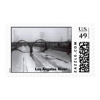 Río de Los Ángeles Estampilla