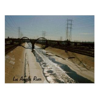 Río de Los Ángeles Tarjetas Postales