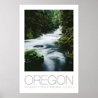 Río de McKenzie, Oregon Posters