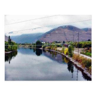Río de Missoula de la bifurcación de Clark Tarjetas Postales