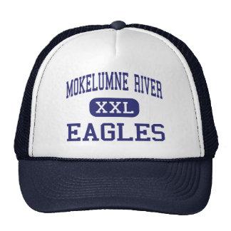 Río de Mokelumne - Eagles - alto - Lodi California Gorro De Camionero