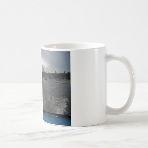 Río de Moscú Taza De Café