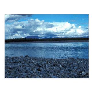 Río de Noatak sobre el río de Kelley Tarjetas Postales