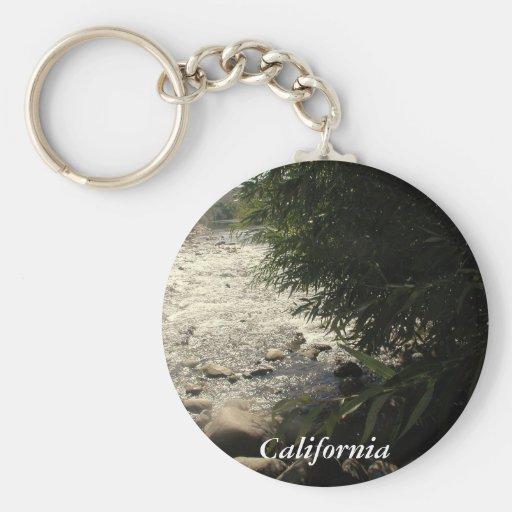 Río de Núcleo de condensación, California (1) Llaveros Personalizados