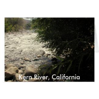 Río de Núcleo de condensación, California (1) Felicitacion