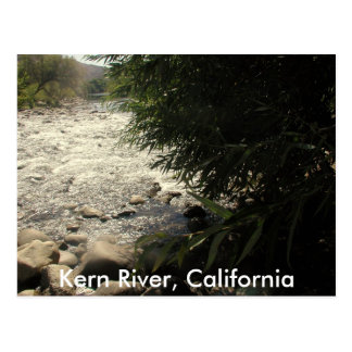 Río de Núcleo de condensación, California (1) Tarjetas Postales