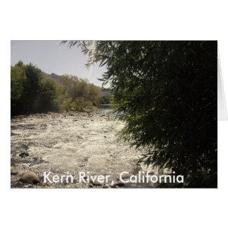 Río de Núcleo de condensación, California Tarjeta