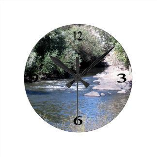 Río de Núcleo de condensación Relojes De Pared