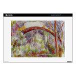 Río de Paul Cezanne- en el puente de las tres fuen Calcomanía Para 38,1cm Portátil