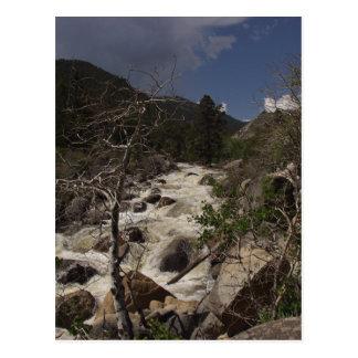 Río de Popo Agie Tarjeta Postal