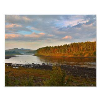Río de St. John en el indicador estrecho en St Fotografías