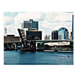 Río de St Johns en Jacksonville céntrica, la Flori Postales