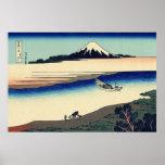 Río de Tama en la provincia de Musashi Impresiones