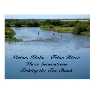 Río de Teton, Idaho Postales
