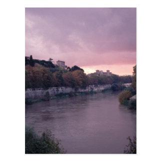 Río de Tíber en Sunset.png Postales