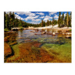 Río de Tuolumne, Yosemite. Postal