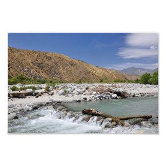 Río de Whitewater Impresion Fotografica