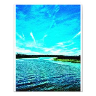 Río de Wilmington en la isla de Oatland Foto