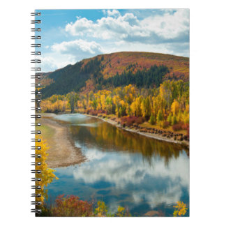 Río de Yampa en otoño Libros De Apuntes