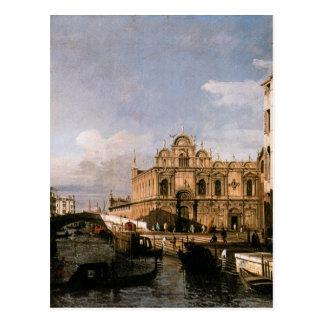 Rio dei Mendicanti and the Scuola di San Marco Postcard