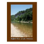 Río del búfalo tarjetas postales