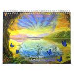 Río del calendario 2009 del calendario de la vida