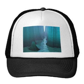 Río del cañón azul gorra