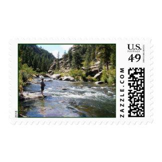 río del cañón de 11 millas estampillas