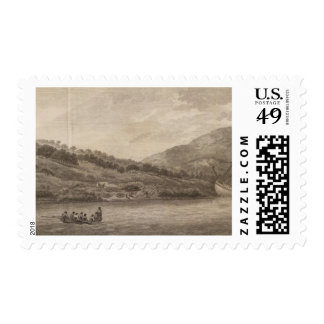 Río del esfuerzo timbres postales