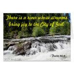 Río del granuja - 46:4 del salmo felicitaciones