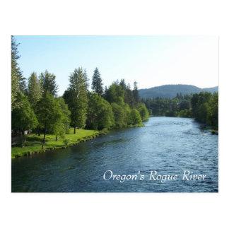 Río del granuja de Oregon Postales