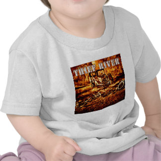 Río del ladrón camisetas